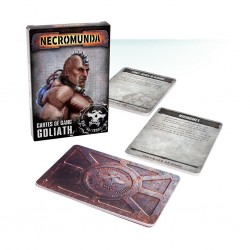 Necromunda - cartes de gang goliath