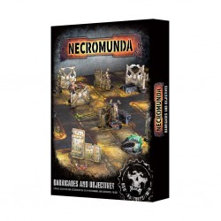 Necromunda - barricades & objectives