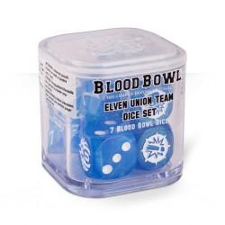 Bloodbowl - Elven union dice set