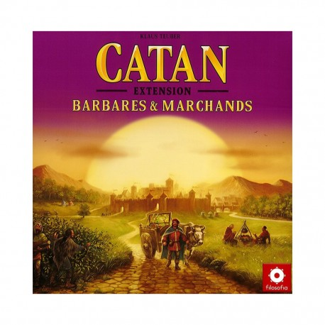 Catan - barbares & marchands