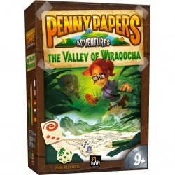 Penny Papers Adventures Valley of Wiraqocha FR ENG GER DU