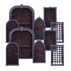 Dungeon Saga - Portes