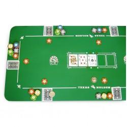 Tapis de poker hudson