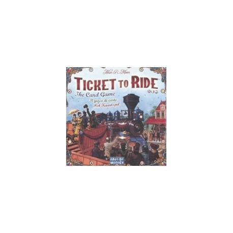 TICKET TO RIDE LE JEU DE CARTES