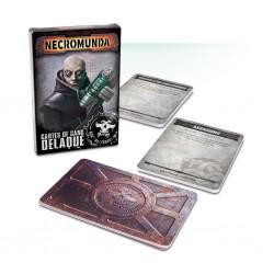 Necromunda - Cartes de Gang Delaque