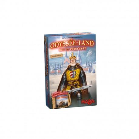 Odyssee-land roi et princesse