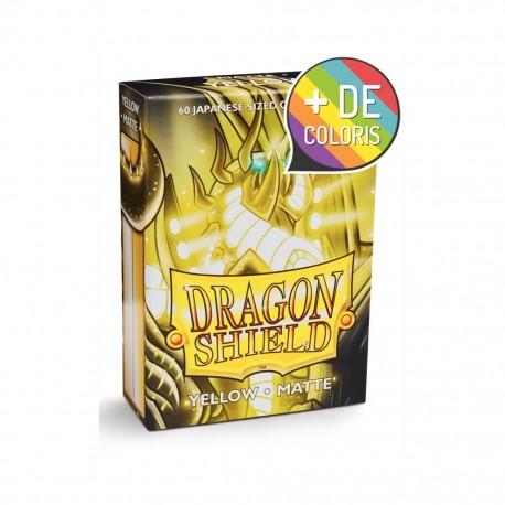 Dragon shield japanese matte yellow