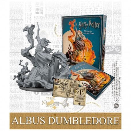 Harry potter miniature aventure game Albus dumbledore