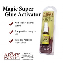 Magic super glue activator