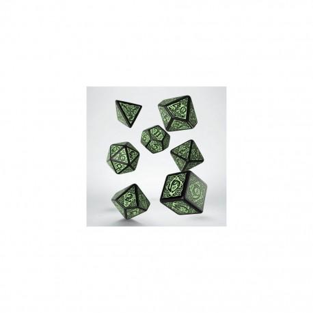 QW - celtic black & green