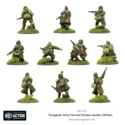 Bolt action hungarian honved division section ( winter )