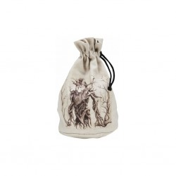 QW - dice bag forest beige & black