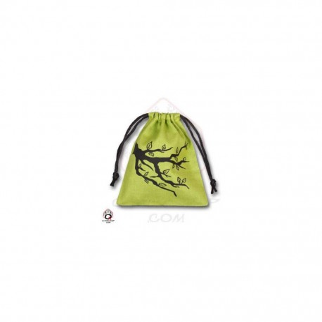 QW - dice bag ent green & black