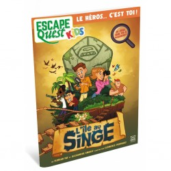 Escape quest kids - l ile au singe
