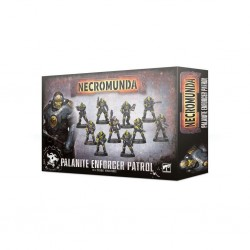 Necromunda - palanite enforcer patrol
