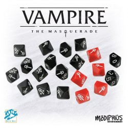 Vampire the masquerade dice set (20 custom)