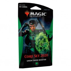 MTG core set 2020 theme booster green