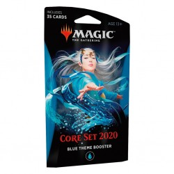 MTG core set 2020 theme booster blue