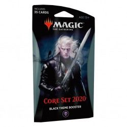 MTG core set 2020 theme booster black