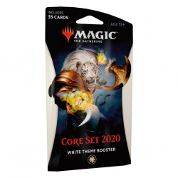 MTG core set 2020 theme booster white
