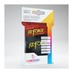 Keyforge black logo sleeves