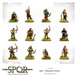 SPQR - gaul tribesmen archers