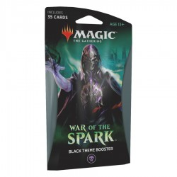 MTG - war of spark black theme booster