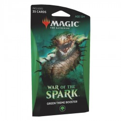 MTG - war of spark green theme booster