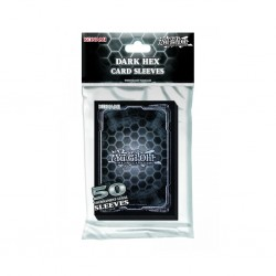 Deck protector YGO dark hex