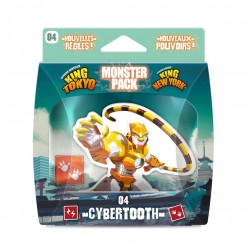 King of Tokyo - Cybertooth - Monster pack 4