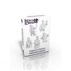 Héros & dragons - cartes états préjudiciables