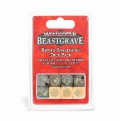 Warhammer Underworlds- beastgrave - pack de dés rippa s snarlfangs