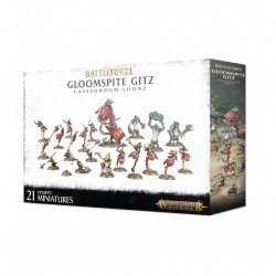 Gloomspite gitz - caveshroom loonz - battleforce