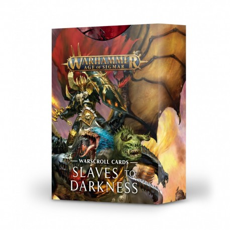 Slaves to darkness - warscroll cards