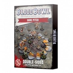 Blood bowl - ogre pitch and dugout