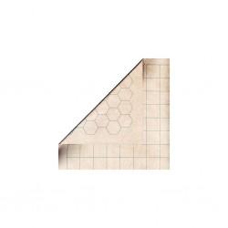 Chessex - megamat reversible (carré 2.54cm) 88x122