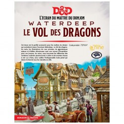 D&D 5 - ecran waterdeep le vol des dragons