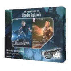 Final fantasy - cloud vs sephiroth - set de demarrage deux joueurs