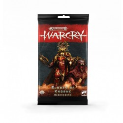 Warcry - Blades of khorne bloodbound cards