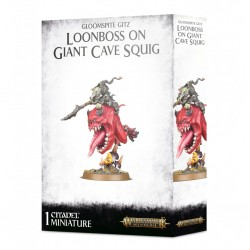 Loonboss On Giant Cave Squig - Gloomspite Gitz