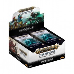 Warhammer Champions - Onslaught Boite de boosters