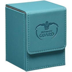 FILP DECK CASE XENOSKIN SPECIAL EDITION 100 ULTIMATE GUARD BLUE PETROL