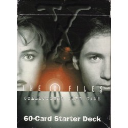 THE X FILES 60 STARTER DECK