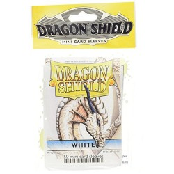 DRAGON SHIELD MINI CARD SLEEVES WHITE