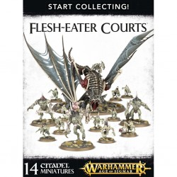 Flesh eater courts start collecting