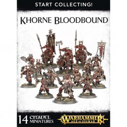 Khorne bloodbound star collecting