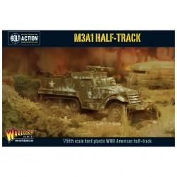 bolt action - M3A1 half-track