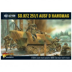 bolt action - sd.kfz 251/1 ausf d hanomag