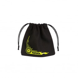 QW - dice bag galactic black & yellow