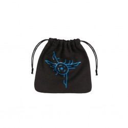 QW - dice bag galactic black & blue